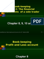 Chapter 8 Book-keeping P&L Account