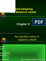 Chapter 9 Book-keeping Format Proper Balance Sheet