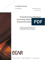 Transforming Students Learning With Classroom Commnucation