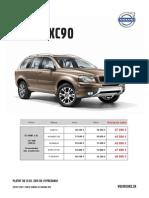 Akciový Cenník Volvo XC90 - Máj 2014
