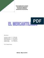 Informe de Mercantilismo
