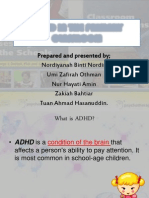 Adhd in the Primary Classroom