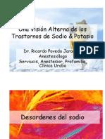 Una Visión Alterna de los Trastornos de Sodio & Potasio