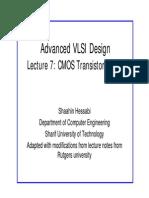 CMOS Transistor Theory Lec7