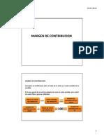 Contribucion Marginal y Sistemas de Costeo