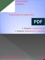 FUNCIONES DE TUNEUP 2014.pptx