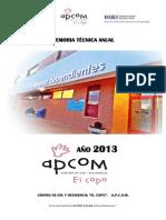 Memoria Tecnica Anual 2012 El Copo - Imas (Autoguardado)