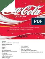 Coca Cola Supply  Chain Model