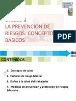 Fol 8 La Prevención de Riesgos Conceptos Básicos