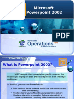 Power Point 2002 Manual