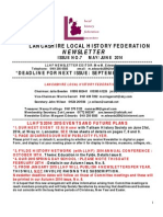 llhf newsletter may 2014