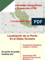 La Proyección Utm y El Gps