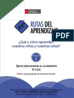 Fasciculo Ciudadania Ciclo III