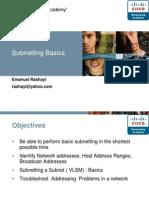 Chpt 6 Addressing the Network Subnetting
