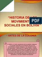 Historia Movivimientos Sociales Bolivia - Iptk