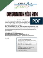 Questionnaire Consultations Membres 2014