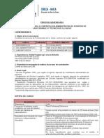 Convocatoria Cas Nº 003-2014