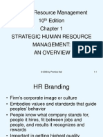 Strategic HRM An Overview