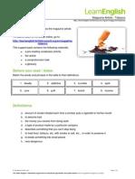 LearnEnglish MagazineArticle Tobacco