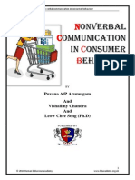 Nonverbal Communication in Consumer Behaviour