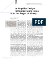 Power Amplifier Design Fundamentals HFE0510_Grebennikov_Part1