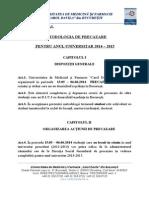 Metodologie Precazare 2014-2015-13.03.2014 Cu Diacritice