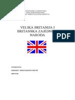 Velika Britanija - Seminar