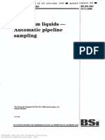 ISO 3171 1999 Petroleum Liquid - Auto Pipeline Sampling