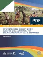 Investigación Del Género y Cambio Climático_fao