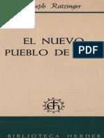 Ratzinger Joseph El Nuevo Pueblo de Dios Cortado 359ss