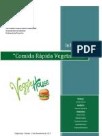 Comida Rápida Vegetariana - VEGGIE HOUSE
