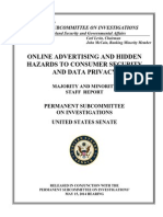 Online Advertising & Hidden Hazards to Consumer Security & Date Privacy