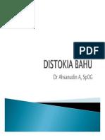Distokia Bahu