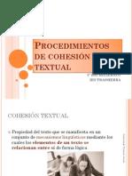 Procedimientos de Cohesión Textual