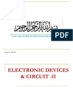 Chapter 08 (Electronic Devices and Circuits-II)