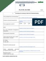 Model Plan Afaceri