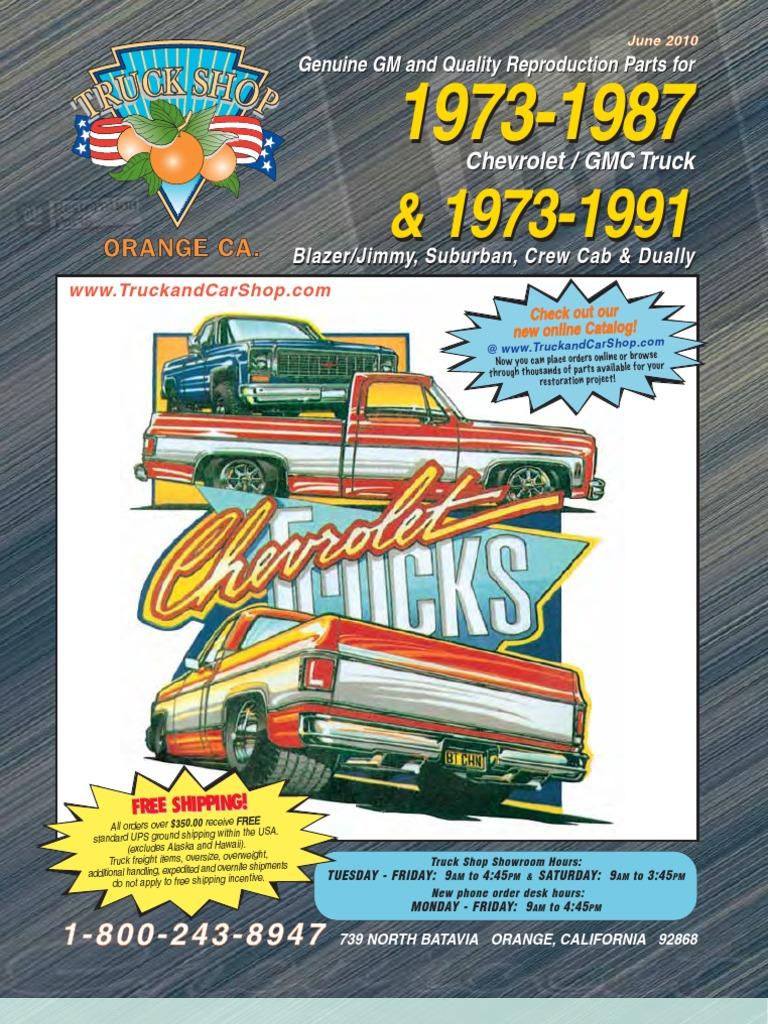 1973-87 chevy crew cab