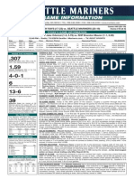05.14.14 Game Notes