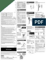 Shimano Tourney Rear and Knob Adjustment