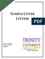 Www.trinitydc.edu Career Files 2010 10 Sample Cover Letters
