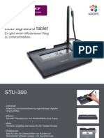 Wacom STU-300 Tablet German