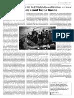 Frontex kennt keine Gnade