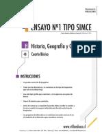 Ensayo1 Simce Historia 4basico 2014