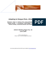 Adapting to Dengue Risk