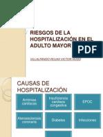 Riesgos de La Hospitalización en El Adulto Mayor