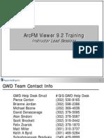ArcFM Viewer Training