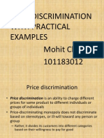 price Discrimination With Practical Examples