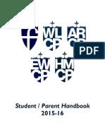 Student Parent Handbook 2015-2016