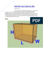 How to Calculate the Case Cube of a Box.docx