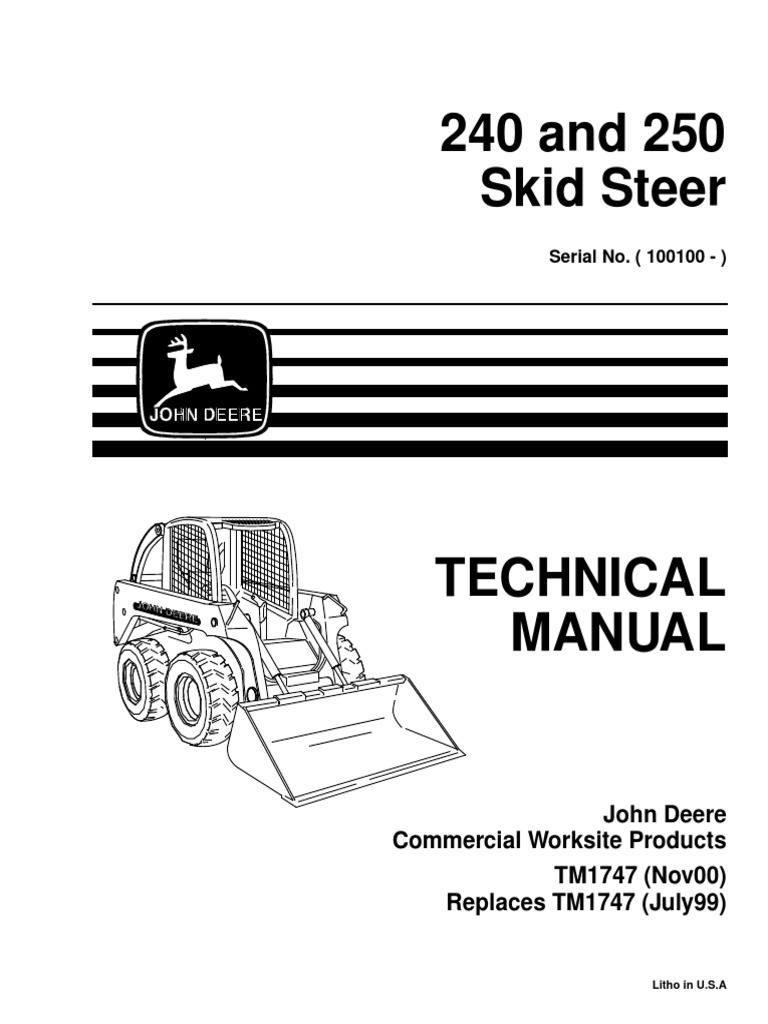 1509530500 tm1747 motor oil diesel fuel john deere 240 skid steer wiring diagram at aneh.co